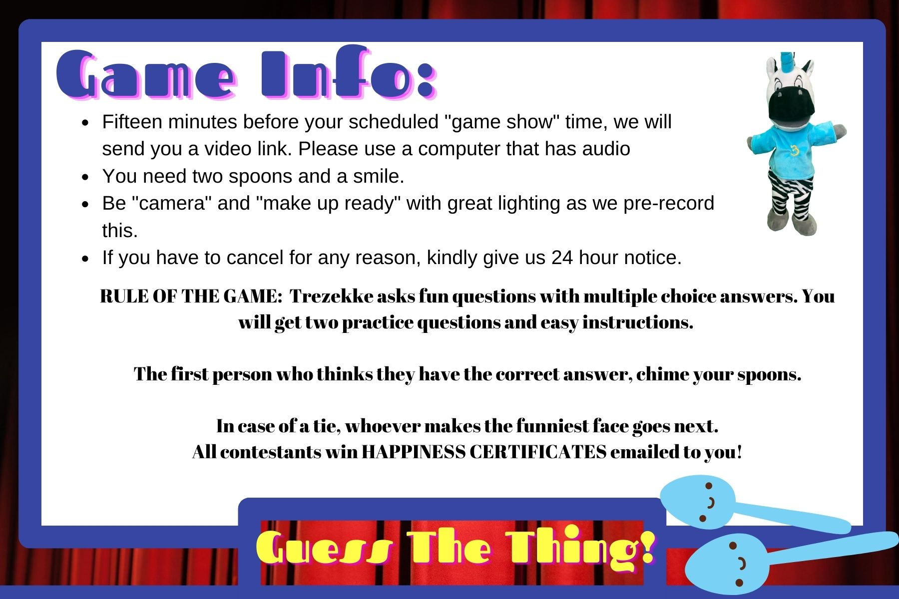 guess the thing game show for kids