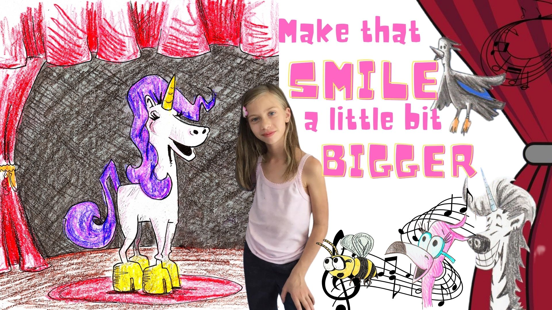 make that smile a little bit bigger childrens song