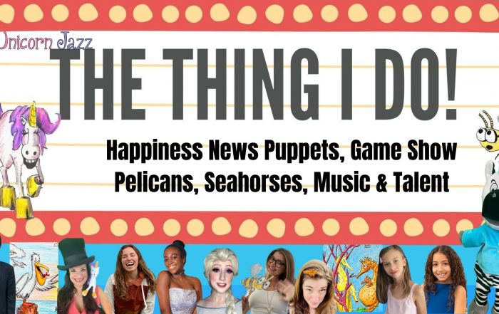 The Thing I Do Show 9 puppets