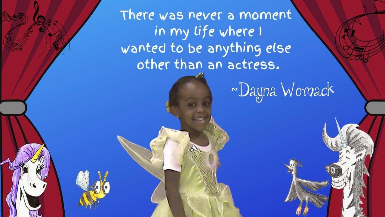 kid aspiring actress
