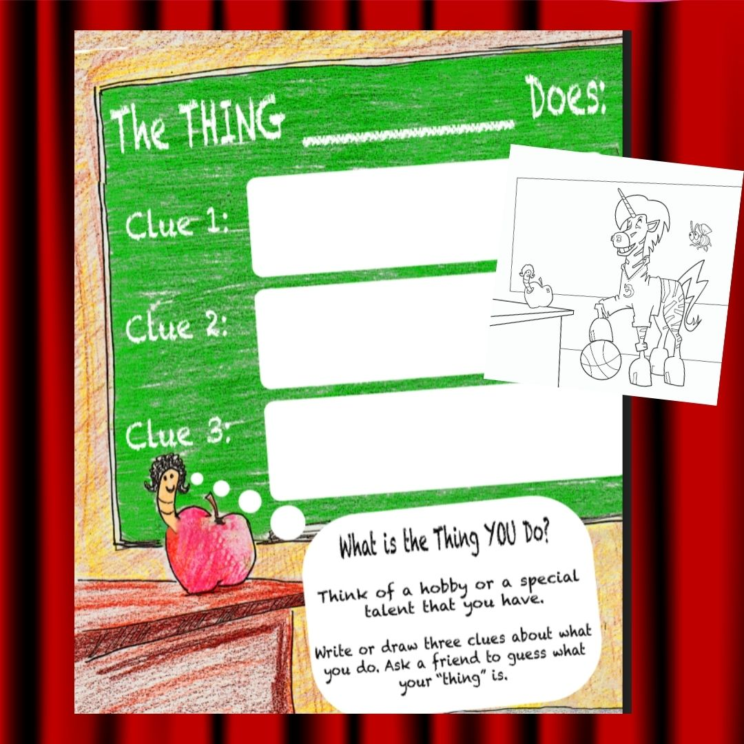 free the thing i do activities printables