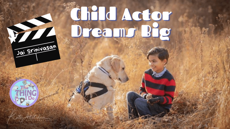 Child Actor Dreams Big