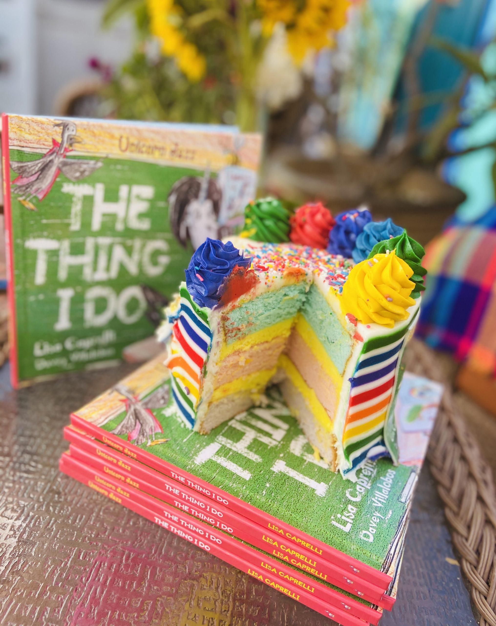 unicorn jazz cake for the thing i do