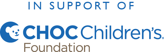 Children's hospital of orange county logo and charity partner