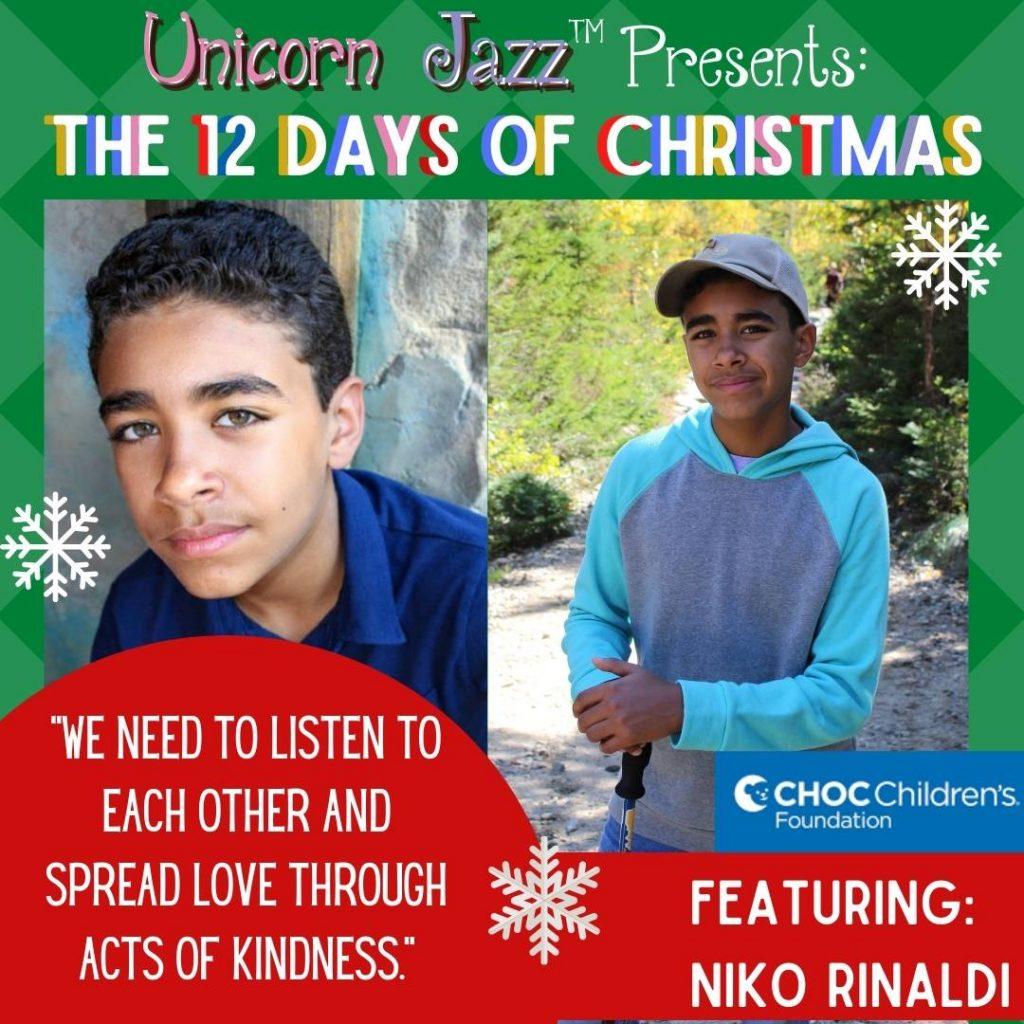 12 days of christmas kids