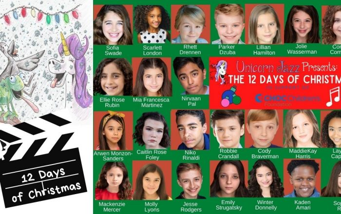 12 Days of Christmas Song and Music Video - We are singing this Holiday Season with our Charity Partner:  Children's Hospital of Orange County Foundation and 24 Talented Kid Actors, Singers