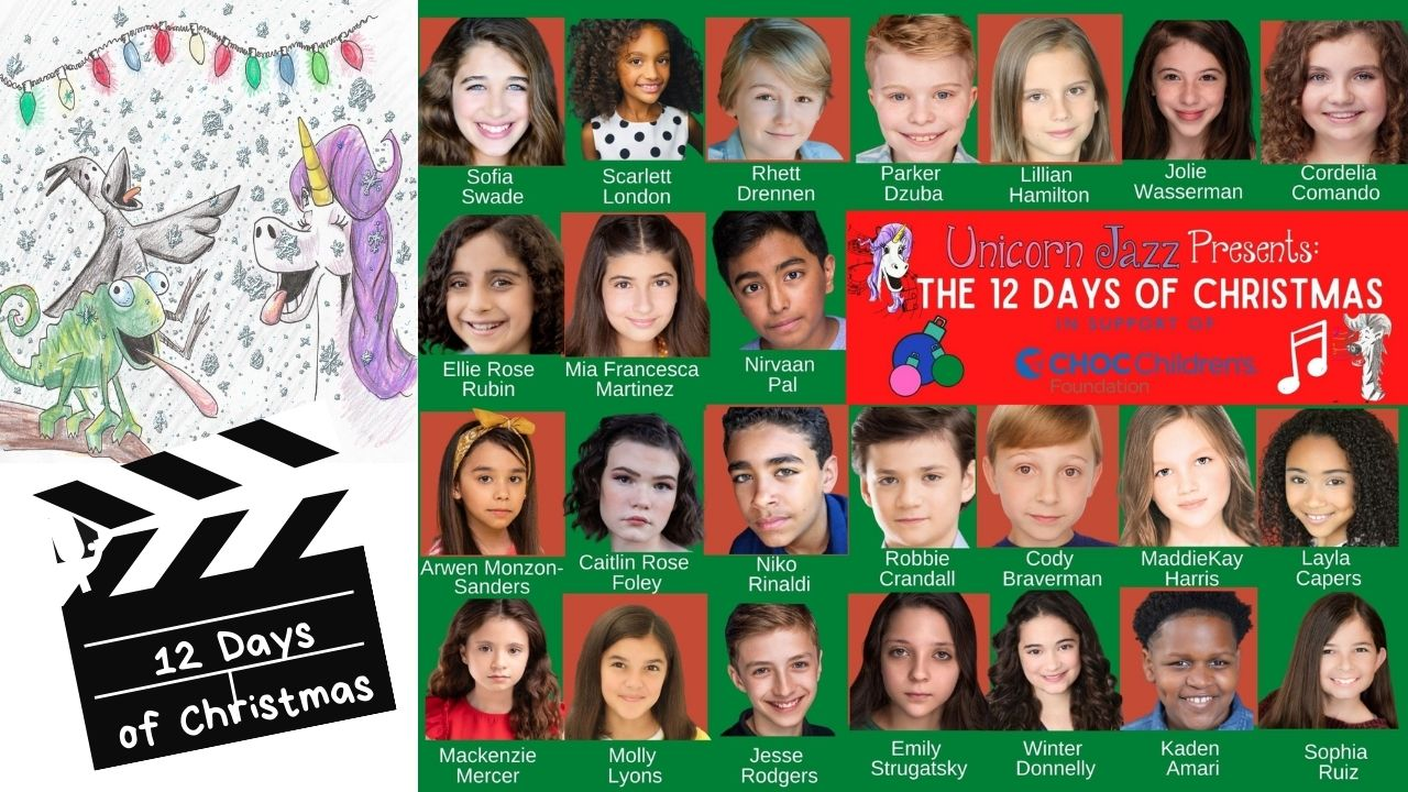 Children's author teams up with authors globally for children's hospitals 12 Days of Christmas Song and Music Video
