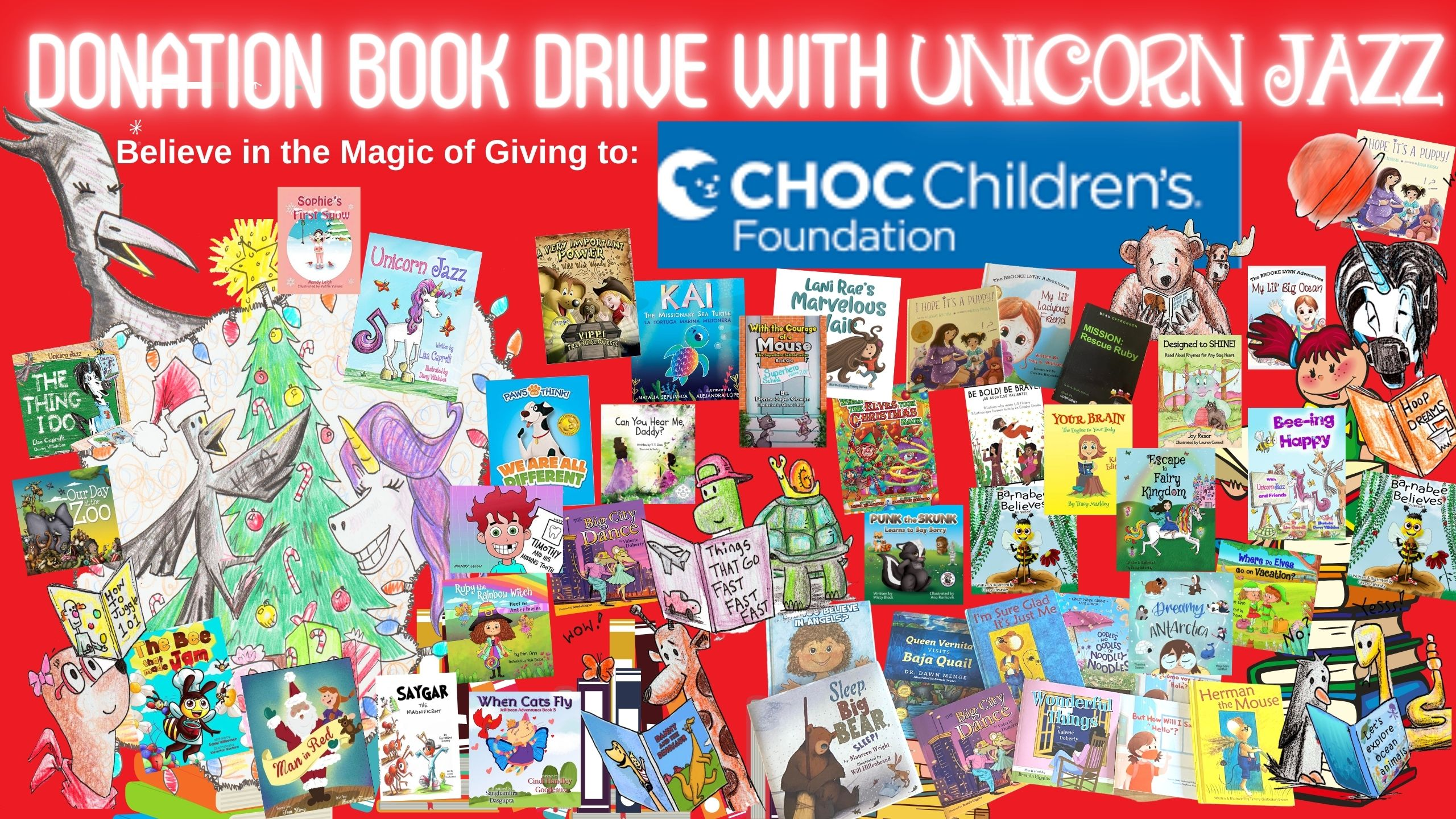 Children's author teams up with authors globally for children's hospitals