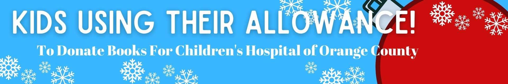 kids donating books for childrens hospitals