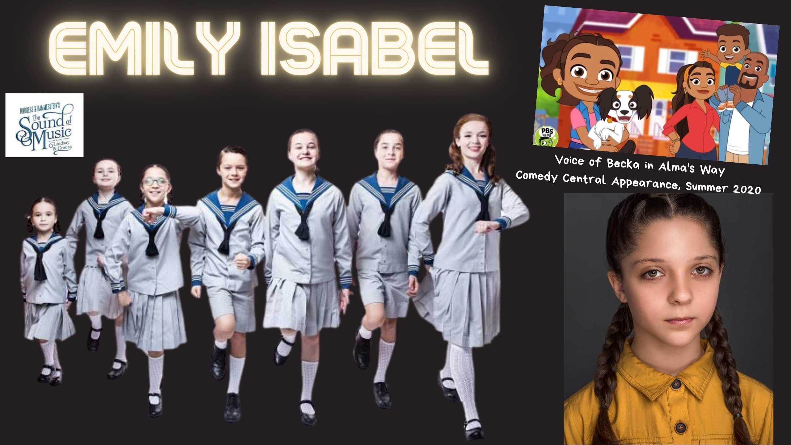 cooley elementary kid actress emily isabel el paso, texas