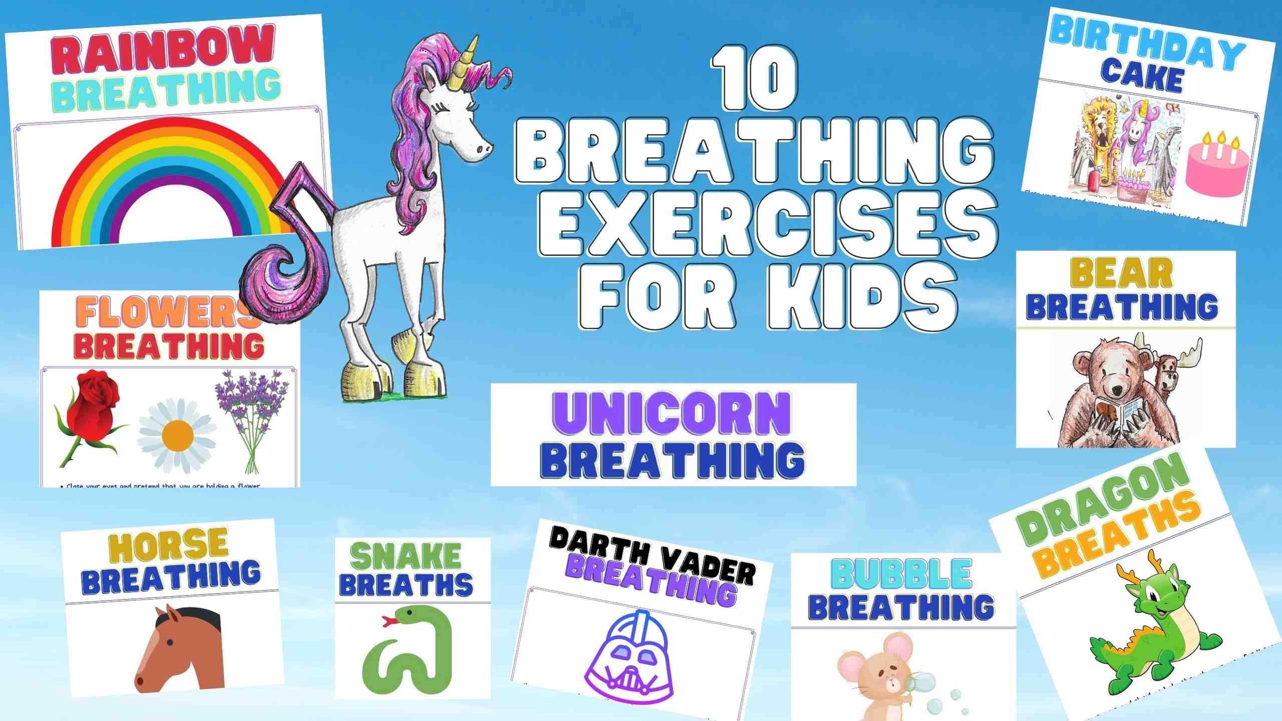 10 breathing exercises for kids