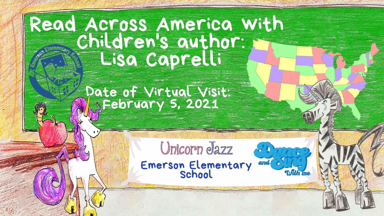 Emerson Elementary School Author Visit