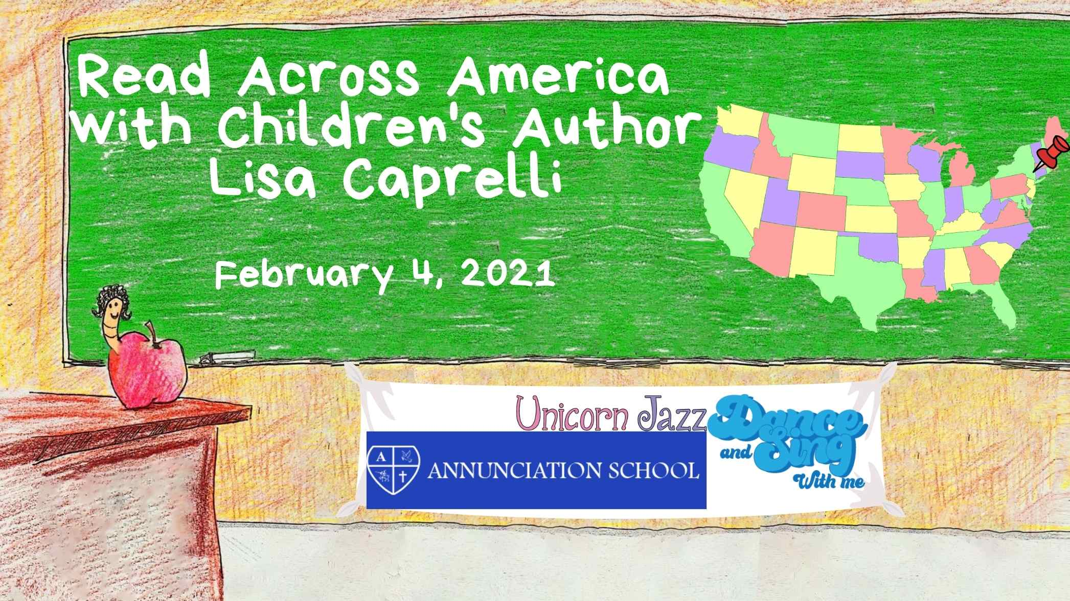 Author Visit in Yonkers, New York