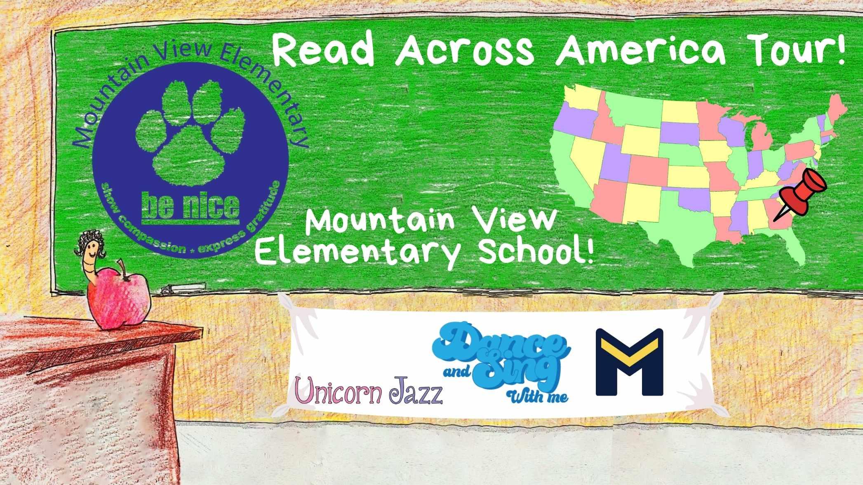 Mountain View Elementary School Author Visit
