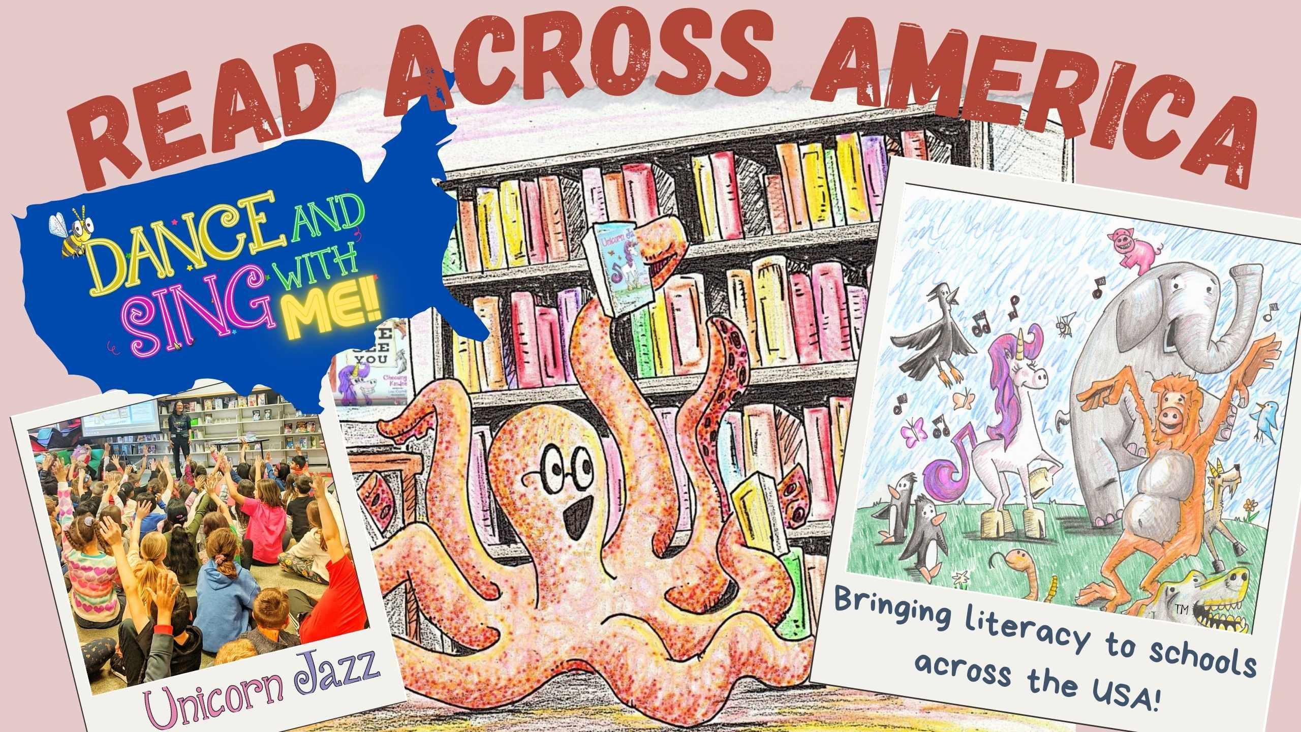 read across america author tour