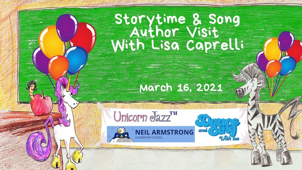 San Ramon, California, will be receiving a fun and engaging author led visit by author Lisa Caprelli in this presentation to Neil Armstrong Elementary School!