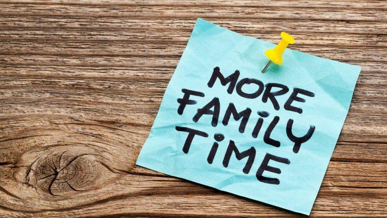 Families That Teach Joy