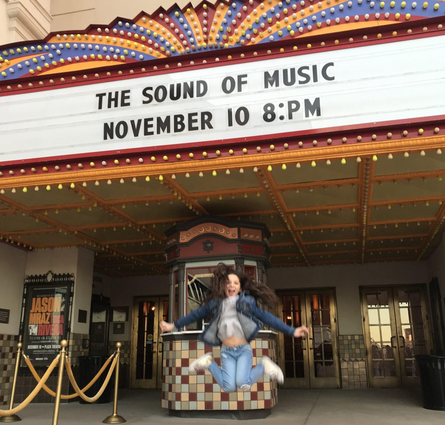 Emily Isabel El Paso Texas sound of music broadway tour