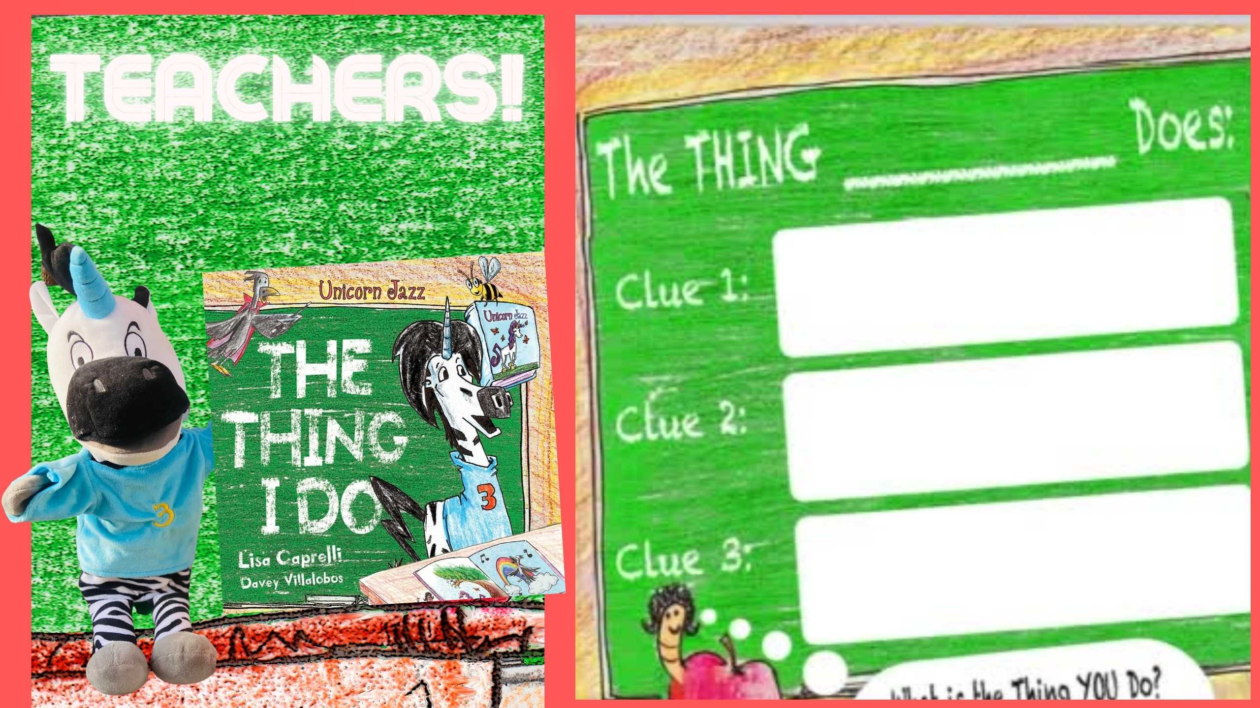 the thing i do curriculum free for books