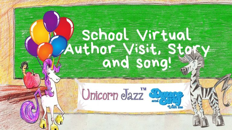 author visit at st. george