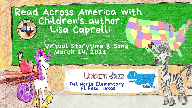 del norte elementary school author visit