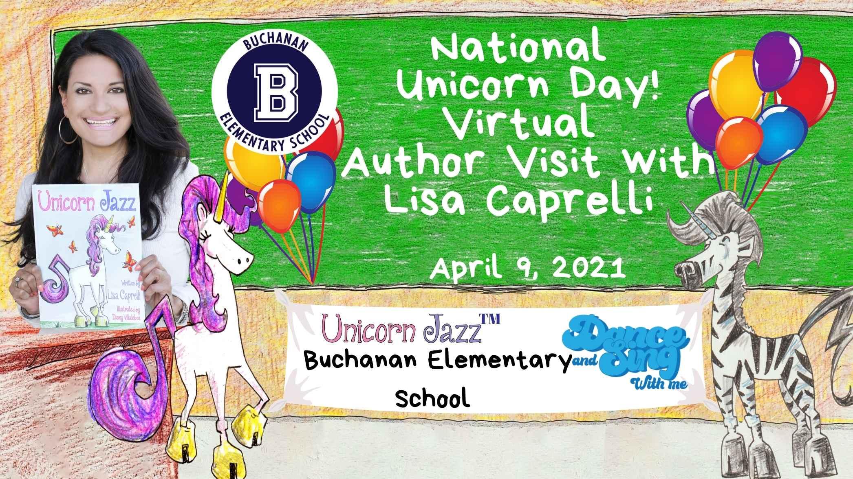 national unicorn day author visit