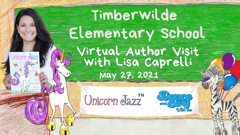 san antonio author visit Timberwilde Elementary School