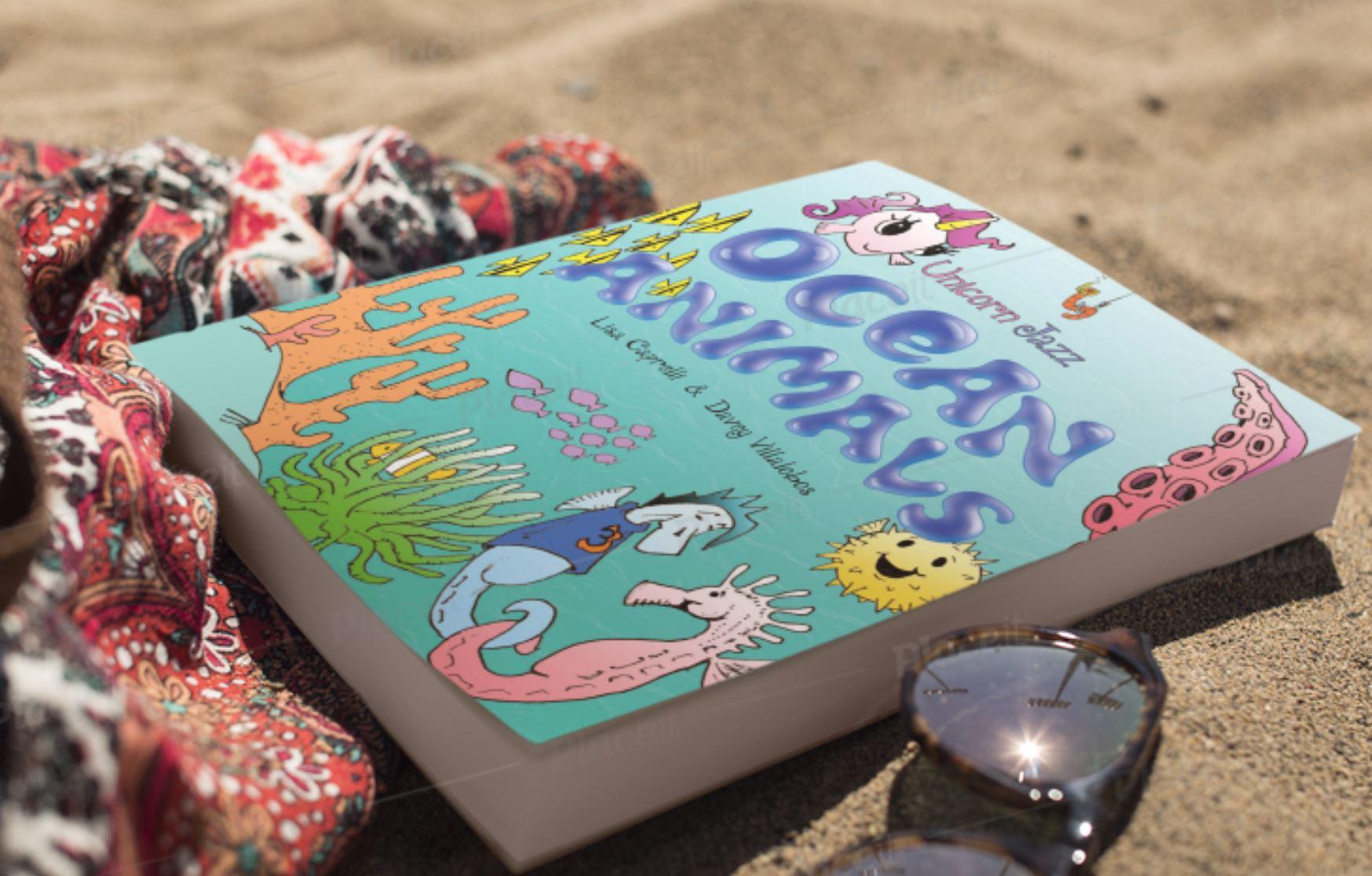 ocean animals book for kids