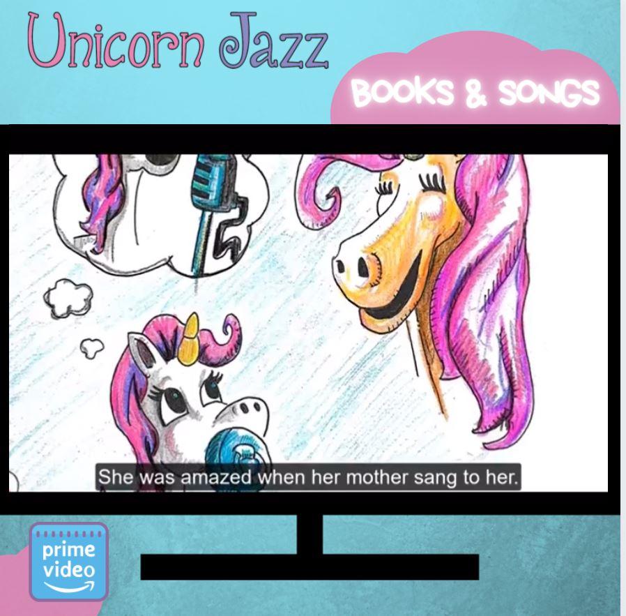 unicorn jazz official books for children