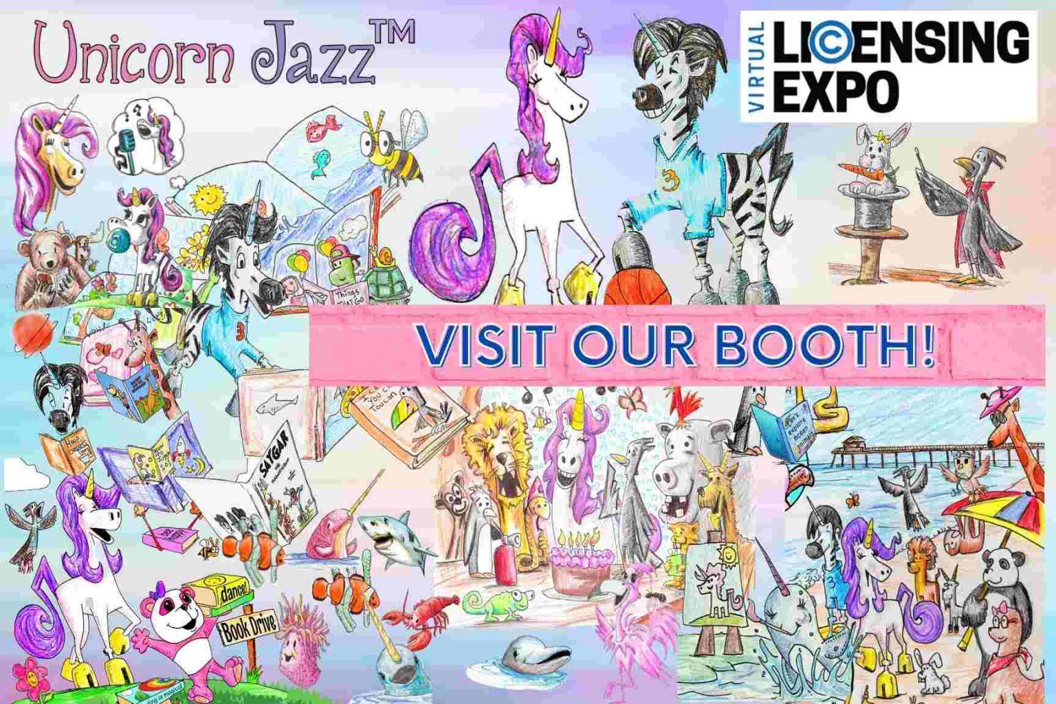 Unicorn jazz licensing expo 2021
