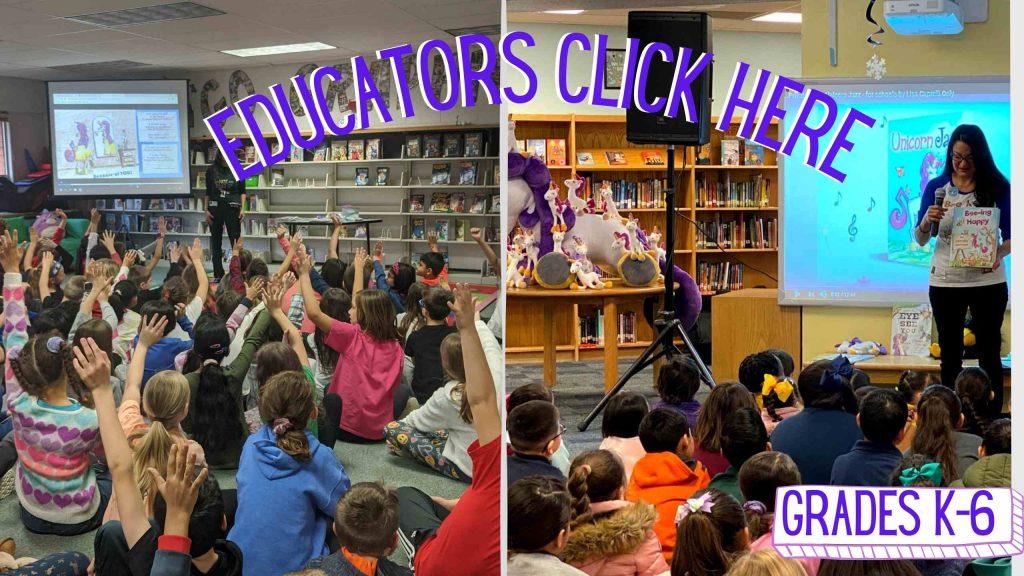 free virtual author visits schools