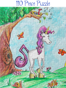 unicorn jazz puzzle
