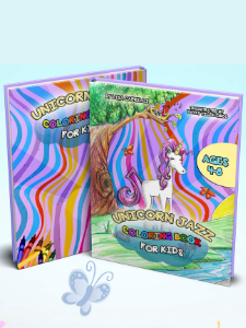 unicorn jazz coloring book best seller